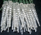 "LED Standard 3 3/4"" Ball Icicle Lights"